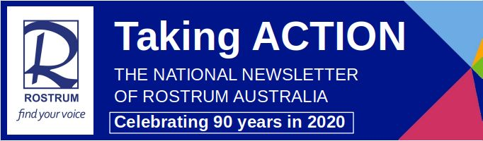 Newsletter Banner Taking ACTION 90